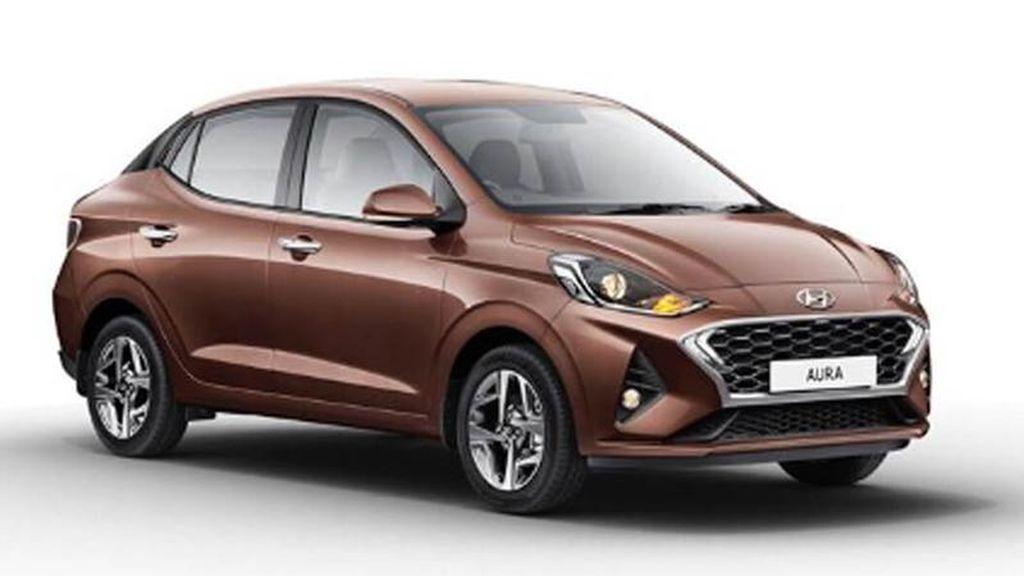"""Hyundai Aura – """"Kẻ song sinh"""" của Grand i10 tại Ấn Độ ra mắt"""