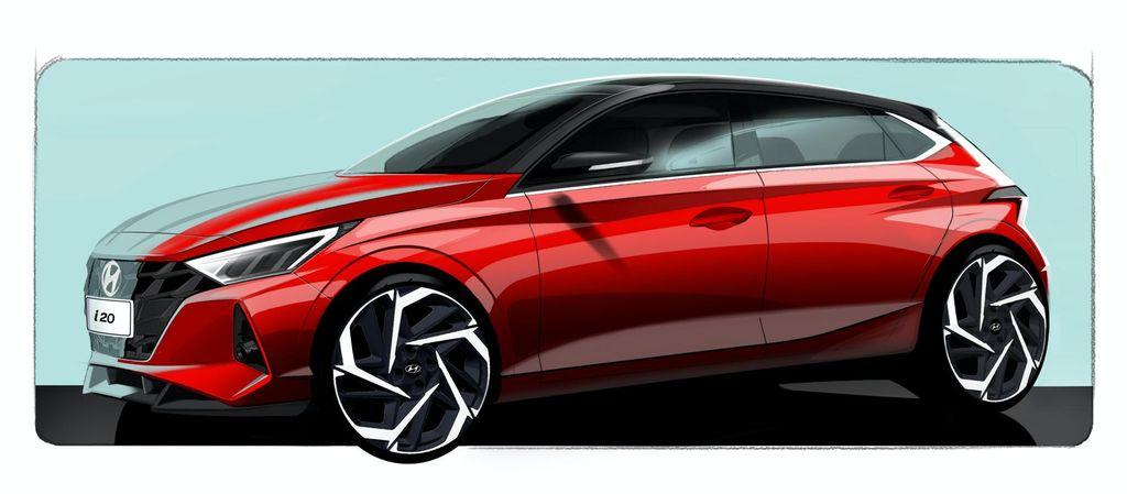 Hyundai i20 mới lộ diện sớm trước thềm Geneva Motor Show 2020