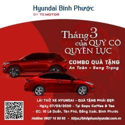 Mừng 8-3, Lái thử xe Hyundai tặng ngay xế hộp