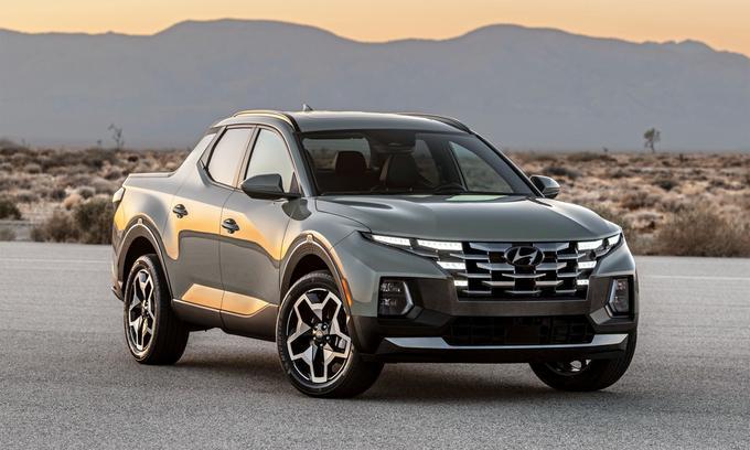 Hyundai Santa Cruz – Bán tải đầu tiên của Hyundai lộ diện